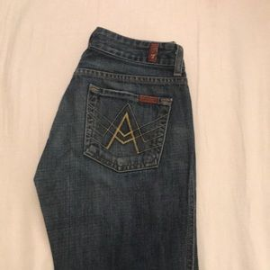 Seven for all mankind jeans size 25!!!!!